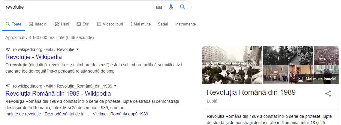 ce este seo - knowledge graph