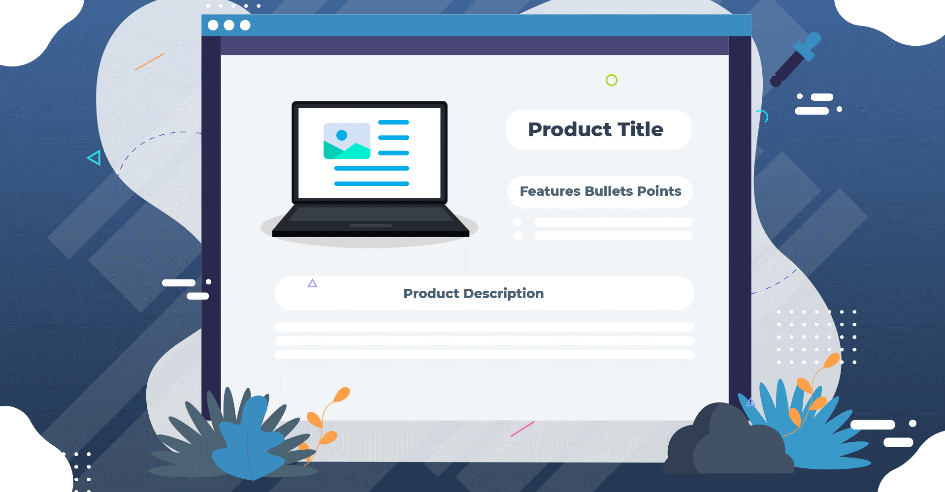 product title